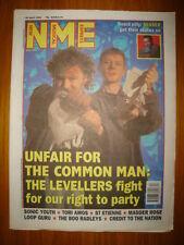 NME 1994 APR 30 LEVELLERS SONIC YOUTH SENSER RADLEYS