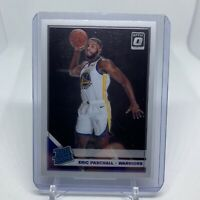 2019-20 Panini Donruss Optic Eric Paschall Rookie Card RC #199 Warriors