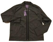 800$ Ralph Lauren Purple Label Dark Gray Neoprene Jacket Size Large