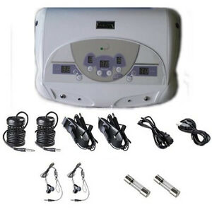 LOT OF 2 DUAL CHI IONIC ION DETOX FOOT BATH AQUA SPA CLEANSE MP3