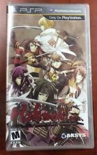 Hakuoki: Warriors of the Shinsengumi (Sony PSP, 2013) NEW FACTORY SEALED