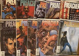 PREACHER ~ Lot Of 10 Issues #44-55 DC/Vertigo FREE SHIPPING! 🔥 🔑 🔥