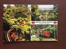 b1u postcard used Driving creek railway new zealand