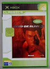 DEAD OR ALIVE 3 - XBOX - PAL ESPAÑA - COMPLETO