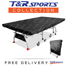 Indoor Multifunctional Cover for Table Tennis Table Free Delivery - Black