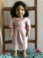 "AMERICAN GIRL PLEASANT LLC 18"" DOLL LIGHT SKIN LONG BRUNETTE HAIR BROWN EYES"