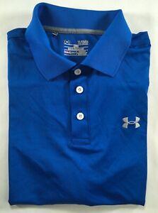 Mens Under Armour Performance Polo Golf Shirt M L XL 2XL 3XL 4XL 1242755 DEFECT