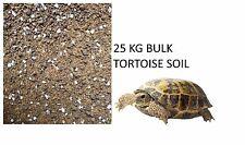 Wundapets vrac tortue sol substrat 25 kg sack vivarium table avec calcium
