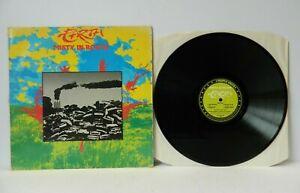 Misty in Roots Earth 1983 Reggae LP People Unite PU102ALB VG/VG