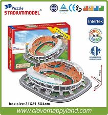 3D Puzzle Model GuangZhou Evergrande TianHe Stadium Arena FC Football Club Home
