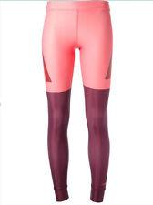 adidas Stella McCartney Techfit Tight Pop Pink/Maroon ~ Large ~ NEW~ M61154