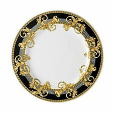 "Authentic VERSACE for ROSENTHAL Prestige Gala Grey 10.5"" Dinner Plate NIB"
