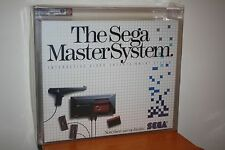 Sega Master System Console w/Hang-On/Safari Hunt - NEW SEALED VGA 85+ MINT GOLD!