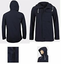 New Mens Hooded Jacket Ex - UK Chainstore Cotton Parka Regular Fit Size S - XL
