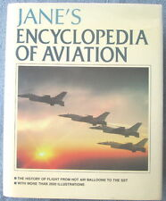 JANE'S ENCYCLOPEDIA OF AVIATION: Five Volumes in One 2,000 photos & illos NM