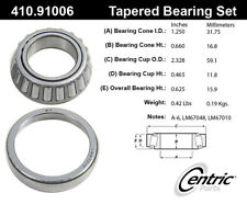 C-TEK Wheel Bearing & Race Set fits 1967-1981 Volvo 142,144,145 242,244,245 164