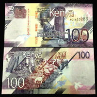 Kenya 100 Shillings 2019 Banknote World Paper Money UNC Currency Bill Note