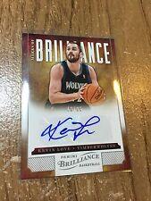 2012/13 Panini Brilliance Kevin Love #/25 Marks Of Brilliance #7 AUTO Autograph