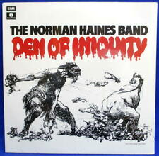 LP NORMAN HAINES BAND - DEN OF INIQUITY /UK ENGLAND REISSUE / PROG PSYCH MONSTER