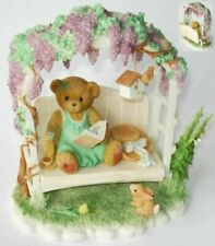 NEW Cherished Teddies Genevieve 2002 Members Only SIGNED by Priscilla Hillman