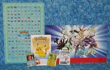 Pokemon 20th Anniversary Exclusive Limited Edition 6 Item Gift Lot 2016 with Mew