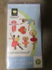 Provo Craft, Cricut Cartridge, Shall We Dance, New in Package! RARE!