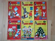 Micky Maus Nr.15, 24, 30, 41, 49, 51 von 1965 - Konvolut 6 Comichefte