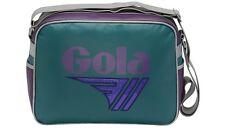 GOLA REDFORD GLITTER spalla Messenger Bag CUB 661-DARK AQUA / VIOLA / GRIGIO