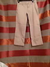 Girl's Cherokee khaki Uniform Pants (Size 12p/gt)