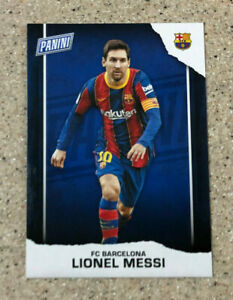 Lionel Messi 2021 Panini Father's Day #LM FC Barcelona Soccer Insert MLS Card