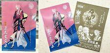 Touken Ranbu Online Trading Clear File Vol.3 Souza Samonji A6 Size Kotobukiya NW