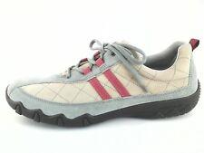 Hotter Womens Comfort Walking Fashion Leather Shoes Tan Red US 11 EU 42 UK 9 EUC
