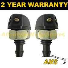 PAIR BMW OR UNIVERSAL WINDSCREEN WASHER HEADLAMP TWIN JET SCREW FITTING WWY12