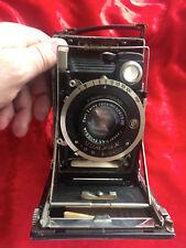 KW Kamera-Werkstätten Patent Etui II 6,5 x 9 + CARL ZEISS JENA Tessar 4,5/10,5