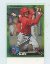 TAYLOR WARD 2016 Bowman Prospects Green Paper Parallel #D /99 #BP80