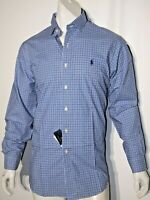 Polo Ralph Lauren men's size large checked plaid long sleeve shirt