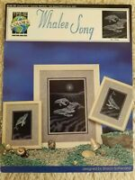Cross Stitch Leaflet  #1589 Whales Song Cross Stitch By True Colors