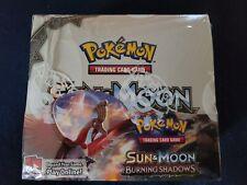 Pokemon TCG Sun & Moon Burning Shadows Booster Box Factory Sealed new