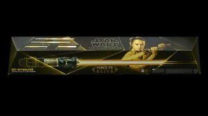 STAR WARS THE BLACK SERIES REY SKYWALKER FORCE FX ELITE LIGHTSABER PRE-SALE!