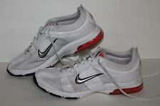 Nike Zm Essential Trainer Running Shoes, #395739-102, Wht/Pink/Blk, Women's 8.5