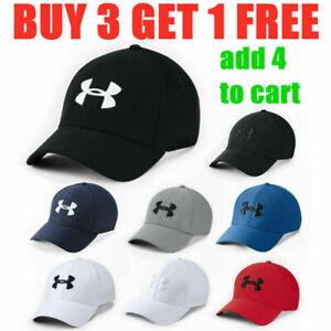 HOT Under Armour Strapback Golf Baseball Cap Embroidered Unisex Women Men Hat