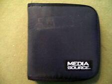 CD/DVD 24 Count Black Media Source Storage Case  (Used)