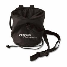 King Innovation 47030 Parts Sack for Small Parts w/ Adjustable Belt, Black