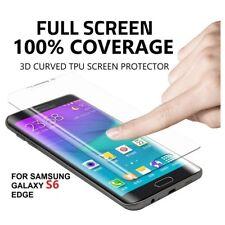 Full Screen Coverage 3D Plastic Film Cover Protector Samsung Galaxy s6 Edge Fast