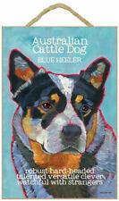 Australian Cattle Dog Traits & Characteristics Sign 7.5 x 10