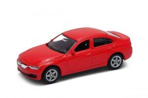 BMW 335i 3 Series 3er F30 Red Welly NEX Series 1:60 1:64 3 inch No. 52330