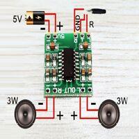 5 Stücke Mini DC 5 V Audio-Modul LCD PAM8403 Class-D-Verstärker-Board set#A X9A6