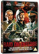 DVD:RAID ON ENTEBBE - NEW Region 2 UK