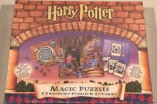 Harry Potter Bepuzzled Magic Puzzles (#31351, 2000) Two-sided NIP Wizard's