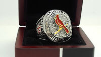 2011 St. Louis Cardinals MLB world series championship ring 11s solid back